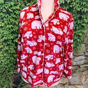 KAREN NEUBERGER Two-Piece Pajamas, 1X